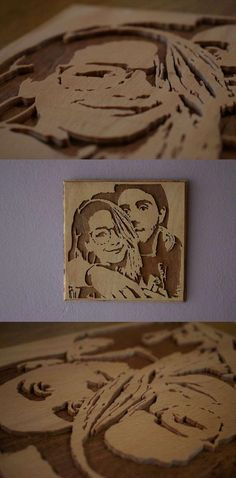 Zalfie Wall Picture, Scroll Saw Picture, Zoe Sugg, Alfie Deyes, Fan Art, Zalfie Fan Art, Wall Picture, Youtube