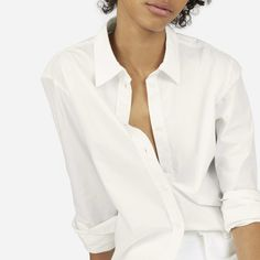 fdf1551a46ef The Relaxed Poplin Shirt - OffWhite