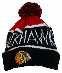 13fcba7e799 NHL Chicago Blackhawks Men s Calgary Knit Cuff Cap