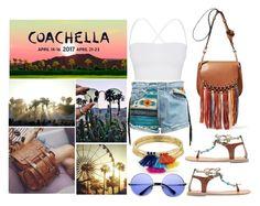 """Coachella 2017"" by hola-hi ❤ liked on Polyvore featuring Rayban, Theory, ZeroUV, Aqua and coachella"