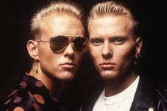 Matt and Luke Goss...would I be prev if   I said I get hawt when   I see them together? Oh well I'm a nasty buzzard then hahahaha!
