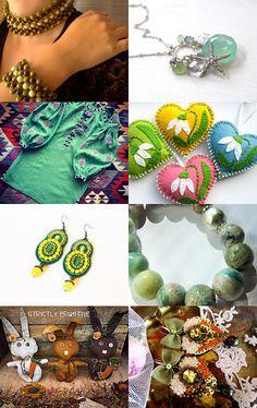 green by Olga Kolot on Etsy--Pinned with TreasuryPin.com