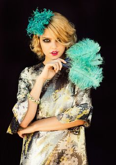 More Ostrich Feather Trends! Image Via: From Me To You