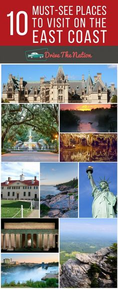 Choosing your next east coast travel destinations? Here are the 10 best places on the east coast to visit with family and friends on your next road trip.