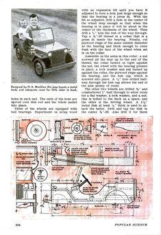 Pedal Jeep Plans