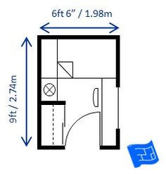 Small bedroom design for a single bed   6 5ft x 9ft  This room isMinimum bedroom size for a single bed built to minimum code  . Minimum Bedroom Size Building Code Australia. Home Design Ideas