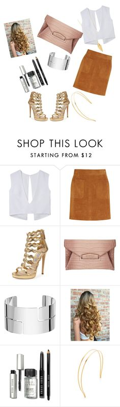 """""""Untitled #21"""" by seprolysvette on Polyvore featuring Frame Denim, Prada, Givenchy, Dinh Van, Bobbi Brown Cosmetics, Mrs. President & Co. and Rebecca Minkoff"""