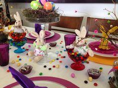 Decoração de mesa Páscoa