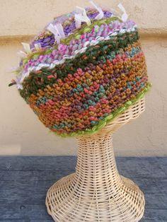 circular weaved hat