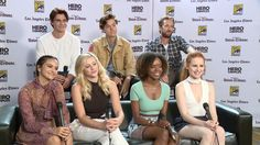 The 'Riverdale' cast on re-inventing the comic book legend 'Archie' for TV, at the San Diego Comic-Con.