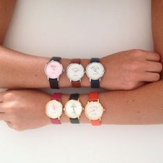 Je ne sais pas choisir Et vous, quelle est votre montre VeryMojo préférée ? #verymojo #montre #watch #feelgood #ootd ► www.verymojo.com ◄