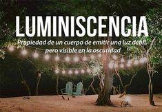 Luminiscencia :$