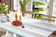 Måla möbler! Gör snyggaste utebordet!