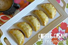 Coffee Cream Empanadas /  Empanadas de Crema de Café con Nuez