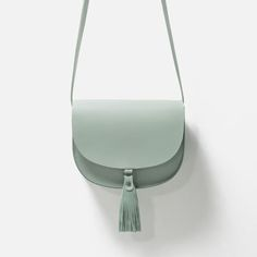 LEATHER MESSENGER BAG WITH TASSELS-View all-Bags-WOMAN | ZARA United States $50