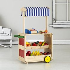 Kids' Imaginary Play: Kids Play Market in Kitchen