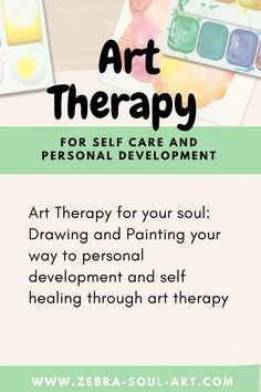 Learn how to use Art Therapy / Therapeutic Art for Self Care. Check out my Online Art Therapy Course with 30 Art Therapy Exercises to help you self reflect and express your feelings. Art Therapy Projects, Art Therapy Activities, Activities For Kids, Art Therapy Courses, Psychological Effects, Self Healing, Communication Skills, Social Skills, Pediatrics