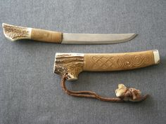 ainu makiri 2005.8 -DSCN37083214  It is a design of Sakhalin Ainu.