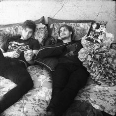 muke promoting their book of stuff 2016