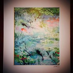 Offering signed prints of my encaustic mixed media paintings for the first time! Visit stop #5 on the Catoctin Holiday Art Tour this weekend in Lovettsville. www.catoctinart.com