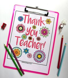 Free printable Teacher Appreciation - Thank You Teacher colouring picture. Show your teacher just how much they mean to you. Father Christmas Letters, Diy Christmas Cards, Appreciation Thank You, Teacher Appreciation, Your Teacher, Printable Coloring, Favorite Holiday, Colouring, Free Printables