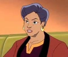 This is Elisa's mother, Diana Maza. She shows up twice in the series.