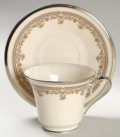 Lenox China - Lace Point...My Mom\'s china, that my Dad bought her ...