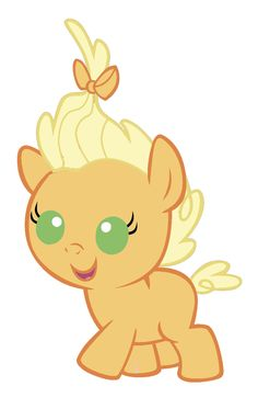 My little pony baby applejack - photo#23