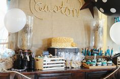 """Photo 17 of 32: western theme / Baby Shower/Sip & See """"Western Turquoise Baby Shower"""" 