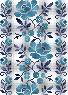 Discover thousands of images about Community wall photos – photos Cross Stitch Borders, Cross Stitch Rose, Crochet Borders, Cross Stitch Flowers, Cross Stitch Charts, Filet Crochet, Cross Stitch Designs, Cross Stitching, Cross Stitch Embroidery