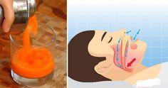 Храп можно контролировать. Этот яблочный, морковный, имбирный и лимонный сок поможет вам успокоить ваши мышцы и снабдить вас необходимыми питательными веществами, повышающими сон. Коктейль естественным образом уменьшит апноэ...