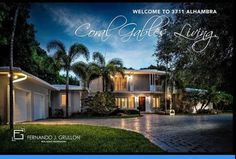 Coral Gables, Mansions, House Styles, Home Decor, Decoration Home, Manor Houses, Room Decor, Villas, Mansion