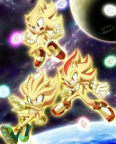 Shadow The Hedgehog, Sonic The Hedgehog, Hedgehog Movie, Hedgehog Art, Silver The Hedgehog, Sonic Team, Sonic Heroes, Knuckles The Echidna, Blaze The Cat