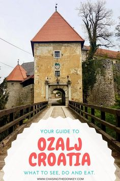 #Croatia #Travel Blog: #Zagreb has never been more accessible for Europeans, and many are looking for day trip options. We suggest you take a day trip from Zagreb to #Ozalj. So, here is our suggested list of things to do in Ozalj.#TravelCroatia