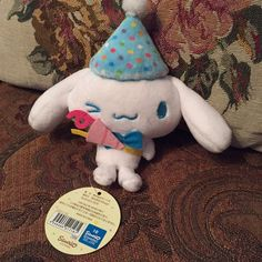 f028f7ced8d Cinnamoroll party keychain plushie❣️Super cute. Bought it at the Sanrio  Kyoto store.