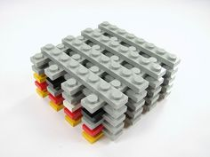 How to stack your Lego bricks for more efficient organization!