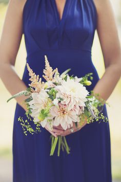 Gorgeous bundle of dahlias   Photography: Blink Of An Eye Photography By Katie - blinkofaneyephotography.com  Read More: http://www.stylemepretty.com/2014/05/07/whimsical-chicago-wedding/