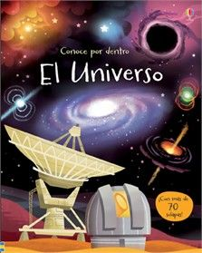 Usborne Book See Inside the Universe Flap Book Astronomy for Beginners With Over 70 Flaps to Lift! pages, 276 x Author/Editor: Alex Frith Illustrator: Lee Cosgrove Recommended Ages: Space Books For Kids, University College London, Weather And Climate, Big Bang, Book People, World Religions, Science Books, Childrens Books, Lonely Planet