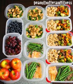 PEANUT BUTTER AND FITNESS: Meal Prep - Week of March 16th
