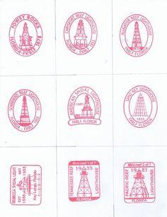 Florida Keys Reef Lights Foundation - Passport Stamps