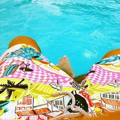Vilebrequin Paradise #Vilebrequin #guy #man #male #shorts #sun #beach #swimmingshorts Swim Wear, Swim Shorts, Fasion, Passion For Fashion, Paradise, Label, Tropical, Swimming, Photoshoot