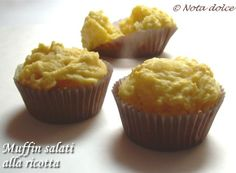 Muffin salati alla ricotta ricetta finger food