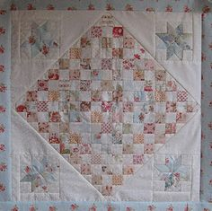 Reproduction of antique quilt  - Betty Prince.