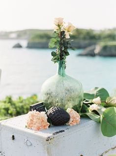 Chic bahamas destination wedding shipwreck theme cody hunter