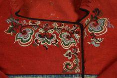 Trøye - Norsk Folkemuseum / DigitaltMuseum Scandinavian Embroidery, Alternative Names, Folklore, Uni, History, Kaftan, Embroidery, Historia
