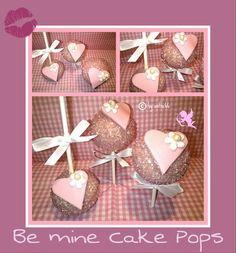 'Be mine Cake Pops'