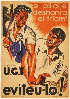 Xirinin. El Pillatje deshonra el Triomf, U.G.T, Eviteu-lo! c.1936