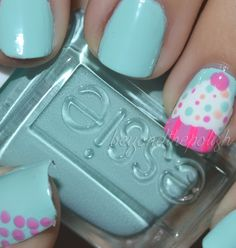 18 Cute Cupcake Nails - Fashion Diva Design
