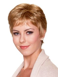 Petite Feather Lite Wig by BelleTress: Its ultra lightweight to provide you with absolute comfort. Made with extra thin wefting, its shake and wear. No need for brushing, it is ready to wear out of the box. You'll feel just right in Petite Feather Lite!
