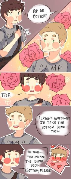 Ayyye! #destiel #fanart #top or bottom? (Cas...defiantly tops :3)
